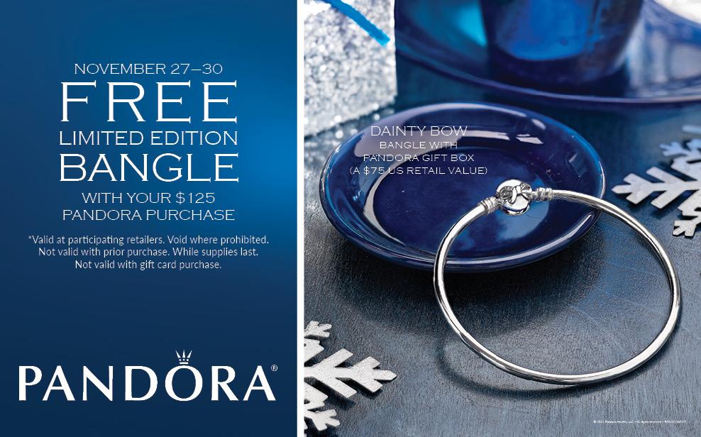 Pandora Free Black Friday Bangle