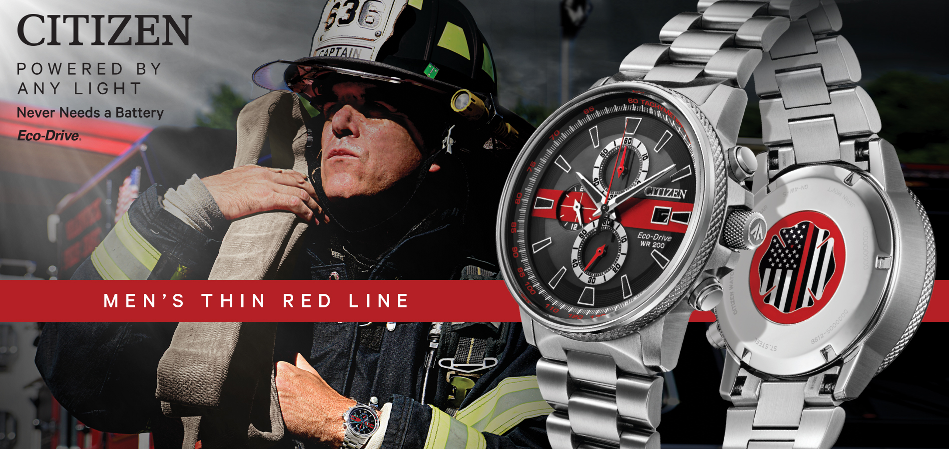 Thin Red Line Watches