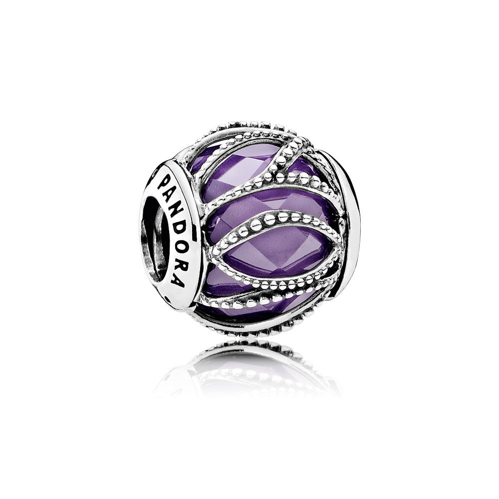 Intertwining Radiance with Purple and Clear CZ