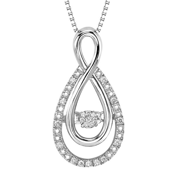 Rhythm of love diamond pendant in sterling silver rol1030 httpbendavidjewelersuploadproductrol1030 aloadofball Images