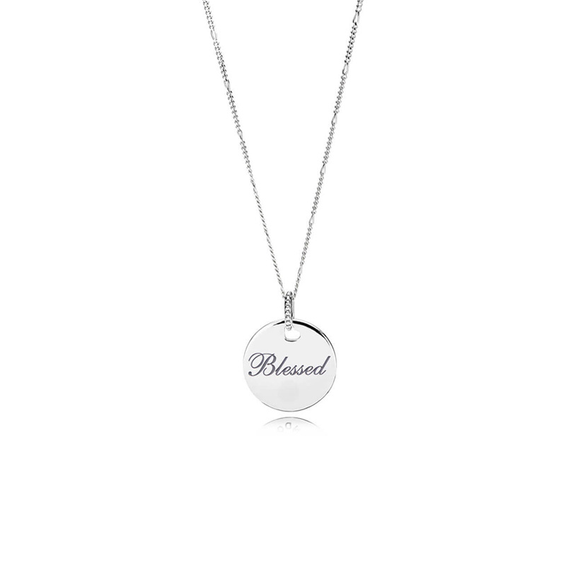 Blessed Disc Pendant